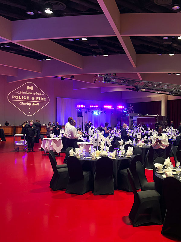 Image from the 2019 Madison Area Police and Fire Charity Ball